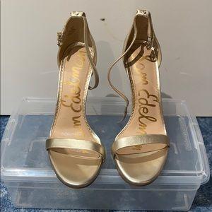 Sam Edelman gold ariella sandal